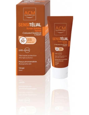 ACM Sensitelial Crema Golden Tint SPF 50+ 40ml