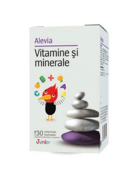 Alevia Vitamina si Minerela Junior-cpr. x 30