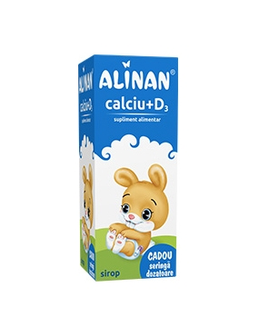 Alinan Calciu+D3-sirop x 150ml-Fiterman