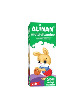 Alinan Multivitamine Kids Sirop x 150 ml Fiterman