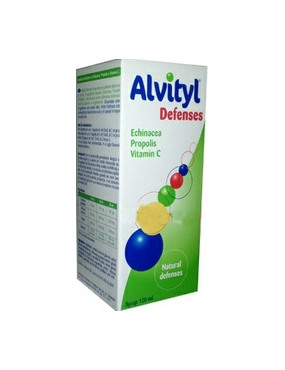 Alvityl Defenses Sirop 120ml