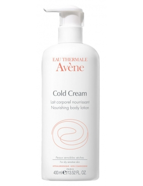 Avene Cold Cream-Lapte Corp 400ml