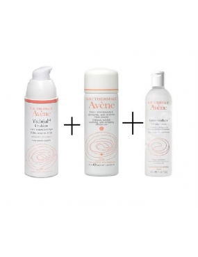Avene Pachet Ystheal Emulsie 30ml+Lot.Micelara & Apa Term.Spray 50ml CADOU