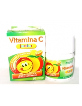 Beres Vitamina C Junior 50mg-cpr.mast x 30