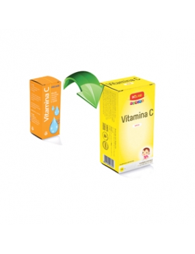 Bioland Junior Vitamina C sol x 10ml-Biofarm