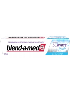 Blend A Med 3D White Fresh Cool Water 100ml