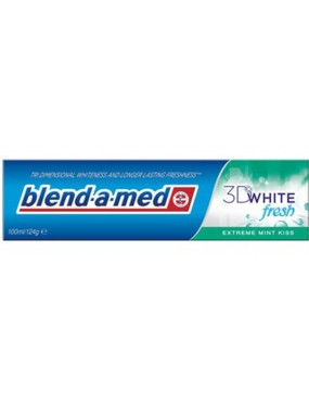 Blend A Med 3D White Fresh Extra Mint Kiss 100ml