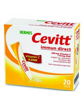 Cevitt Immun Direct 300mg Vit.C+10mg Zn x 20pl-Hermes