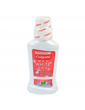 Colgate Apa de Gura Max White One 250ml