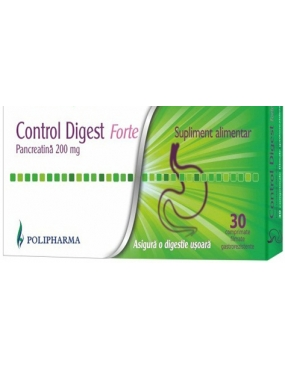 Control Digest Forte-cps x 30-Polipharma