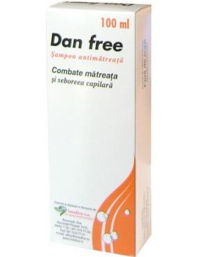 Dan Free Sampon Antimatreata 100ml (Ketoconazol )