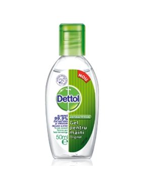 Dettol Gel Dezinfectant Maini 50ml