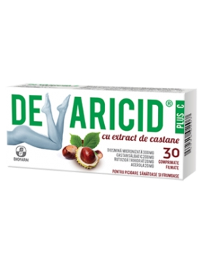 Devaricid Plus C cu Extract de Castane