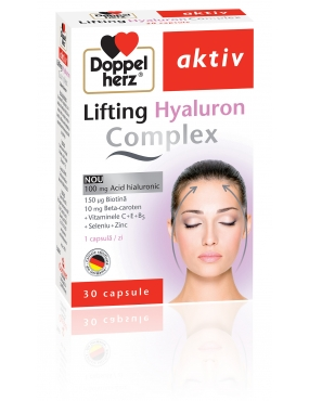Doppel Herz Aktiv Lifting Hyaluron Complex-cps x 30