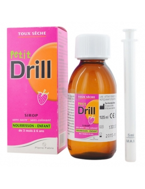 Drill Bebedril 125ml - Lab.Pierre Fabre