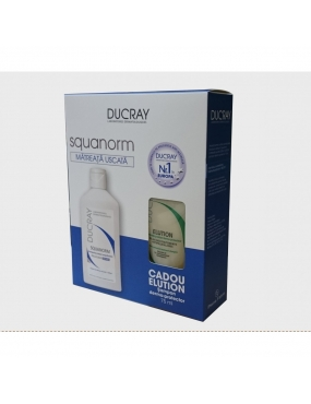 Ducray Squanorm Matreata Uscata 200ml +Elution 75ml