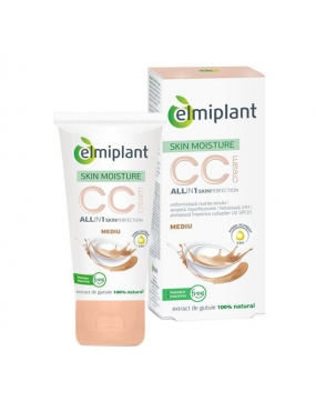 Elmiplant Skin Moist CC Cream Mediu 50ml