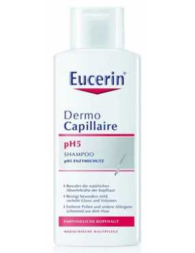 Eucerin DermoCapillaire Sampon pH5 scalp sensibil 250ml
