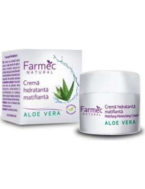 Farmec Cr.Hidr.Matifianta Aloe/Ceai 50ml
