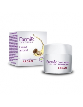 Farmec Natural crema Antirid Argan x 50ml