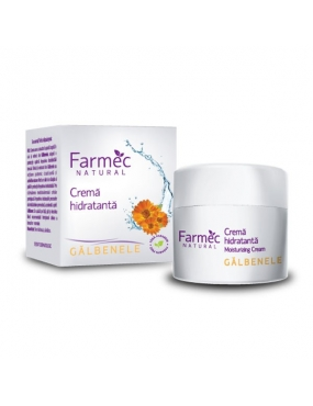 Farmec Natural crema Hidratanata Galbenele x 50ml