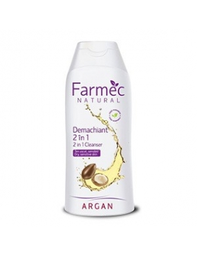 Farmec Natural Demachiant 2 in 1 Argan x 200ml