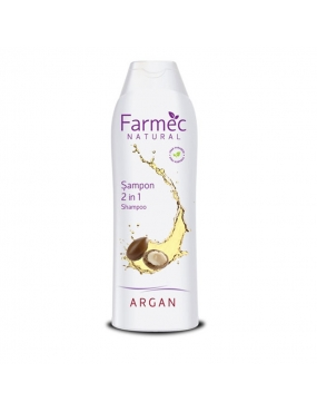 Farmec Natural Sampon 2 in 1 Argan x 400ml