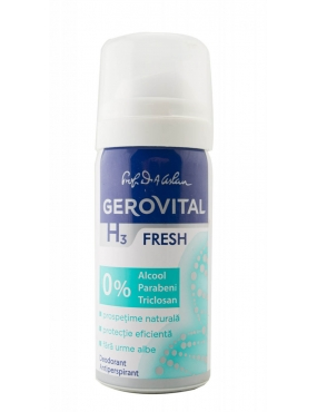 Gerovital H3 Deo-Antiperspirant Fresh 40ml