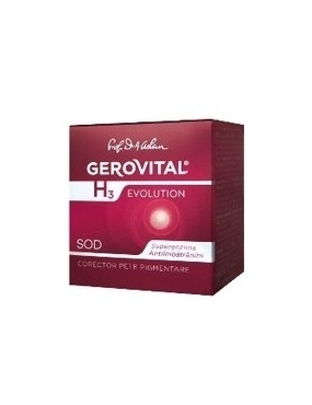 Gerovital H3 Evolution Corector Pete Pigm. 50ml