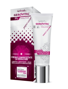 Gerovital H3 Evolution Cr. Luminozitate si Hidratare x 30ml
