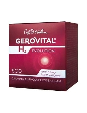 Gerovital H3 Evolution Cr.Anticuperzoica Calm. 50ml