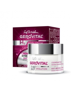 Gerovital H3 Evolution Cr.Antirid Intens Hidrat. 50ml