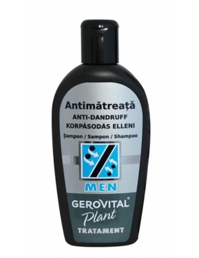 Gerovital Plant Men Sampon Antimatreata x 200ml