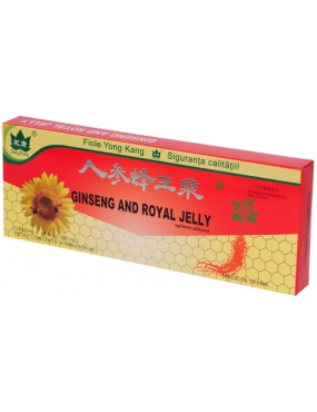 Ginseng + Royal Jelly x 10fiole - YongKang