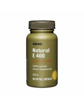 GNC Natural E 400 mixed tocopheroles x 90