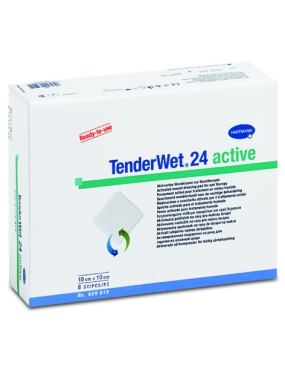 Hartmann Tender Wet 24 Active 10 x 10cm x 10buc