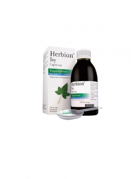 Herbion Ivy 7mg/ml-sirop Expectorant Edera x 150ml-Krka
