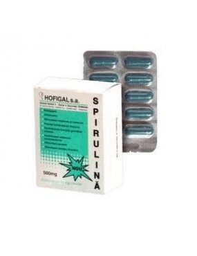 Hofigal Spirulina 500mg-cpr. x 30