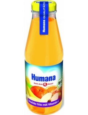 Humana Juice Trio Vitamina C 200ml