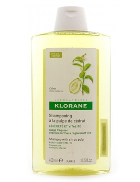 Klorane Sampon Pulpa De Citrice 400ml