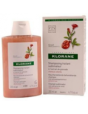 Klorane Sampon Rodie 200ml