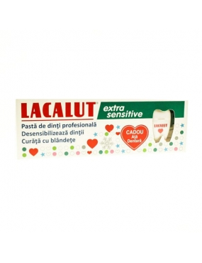 Lacalut Pasta Extra Sensitive 75ml+Ata Dentara Cadou