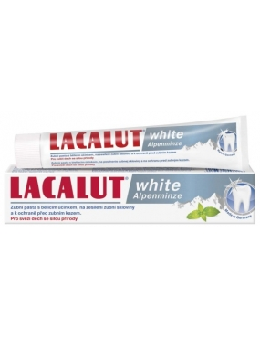 Lacalut Pasta White Alpenminze 75ml