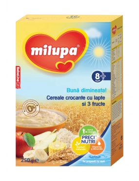 Milupa Buna Dimineata Cereale Crocante Junior 8+