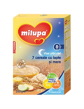 Milupa Vise Placute 7 Cereale/Mere 8+ 250g