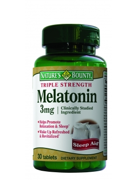 Natures Bounty Melatonina 3mg x 30