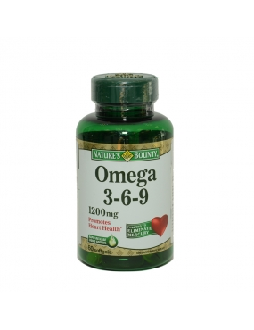 Natures Bounty Omega 3-6-9 120mg CT x 60