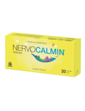Nervocalmin Relaxare -cps.moi x 20-Biofarm