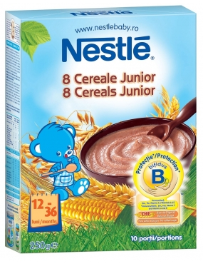 Nestle 8 Cereale Junior 250g