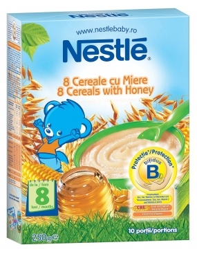 Nestle 8 Cereale/Miere 250g